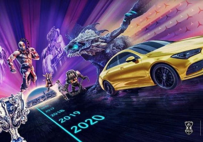Foto de MERCEDES-BENZ es el socio automotriz exclusivo de los eventos mundiales de League of Legends Esports