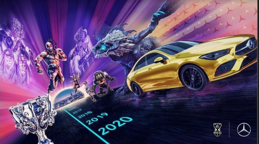 Foto de MERCEDES-BENZ es el socio automotriz exclusivo de los eventos mundiales de League of Legends Esports