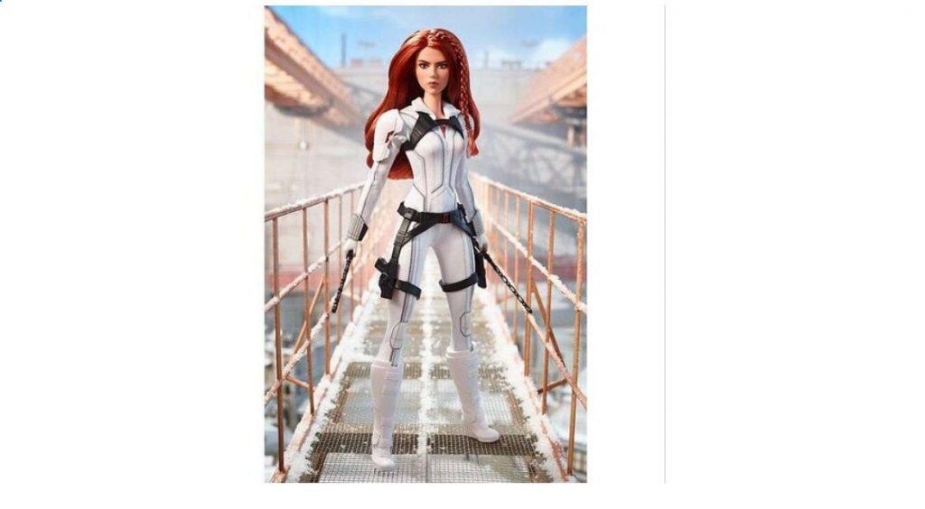 Foto de Marvel y Mattel lanzan la muñeca Barbie de Black Widow