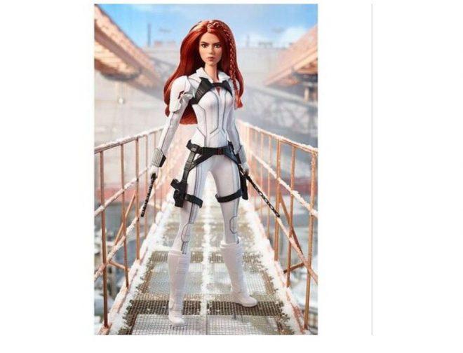 Fotos de Marvel y Mattel lanzan la muñeca Barbie de Black Widow
