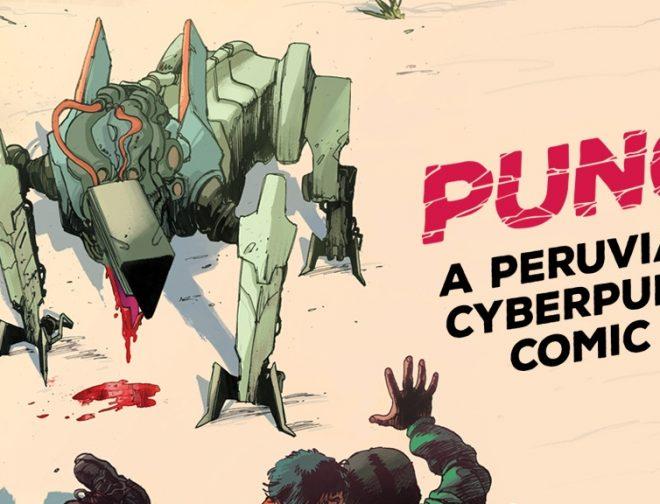 "Fotos de Se lanza en kickstarter la campaña de ""PUNO, a Peruvian Cyberpunk Comic"""