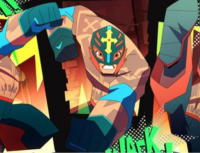 Fotos de Cartoon Network Confirma una Serie Animada Sobre el Luchador Rey Misterio