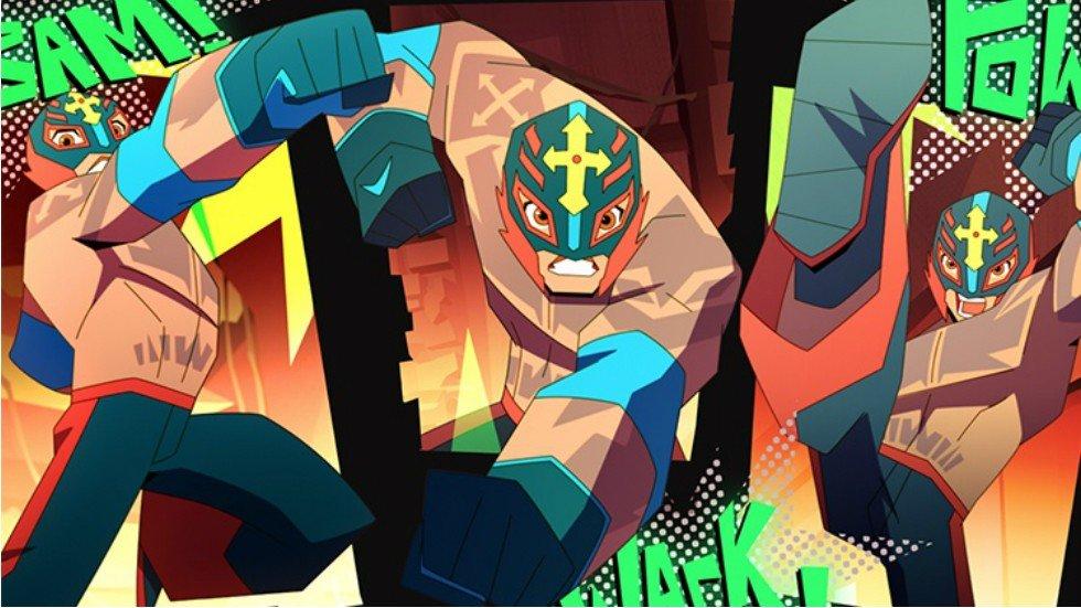 Foto de Cartoon Network Confirma una Serie Animada Sobre el Luchador Rey Misterio