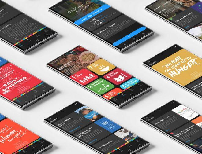 Fotos de Samsung y UNDP celebran el impacto significativo alcanzado