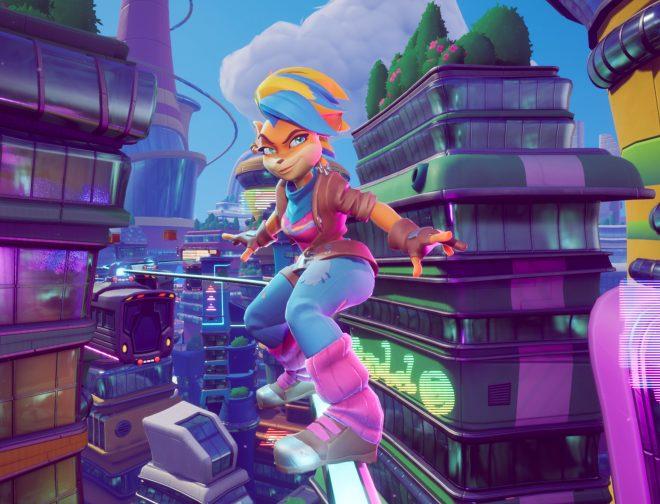 Fotos de Crash Bandicoot 4: It's About Time, Muestra el Gameplay de Tawna