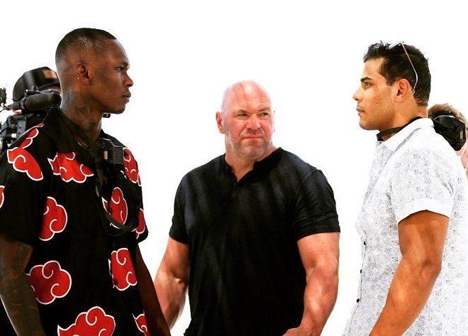 Fotos de Israel Adesanya va como miembro de Akatsuki al careo de UFC 253