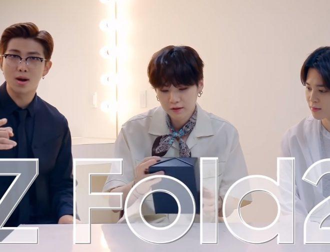 Fotos de BTS prueba tomar fotos con el Galaxy Z Fold2