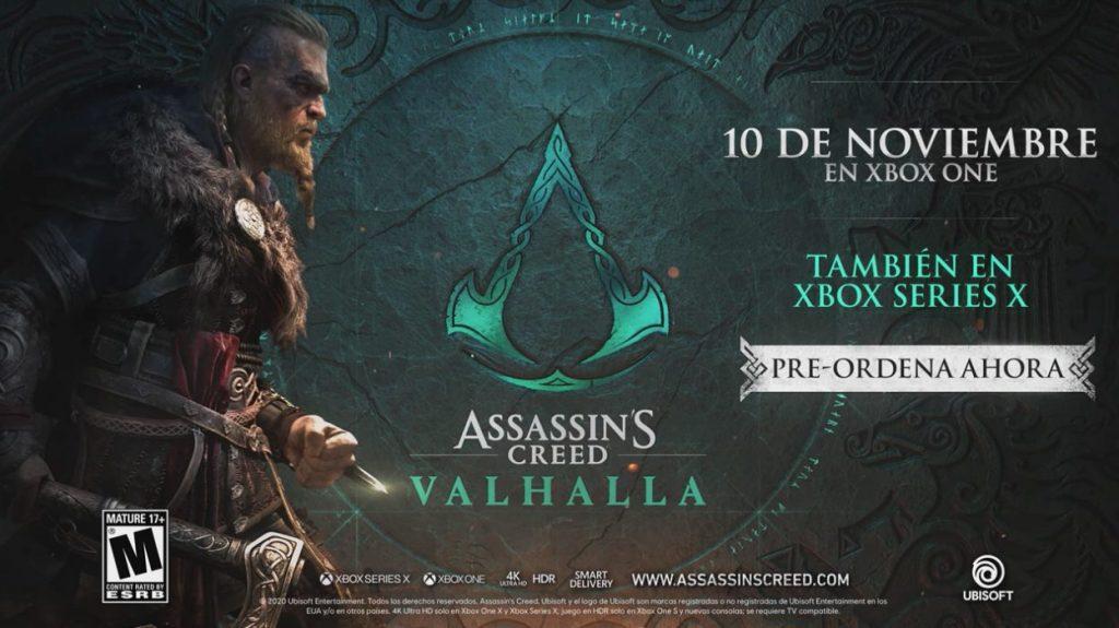 Foto de Assassins Creed Valhalla nos muestra su trailer de historia