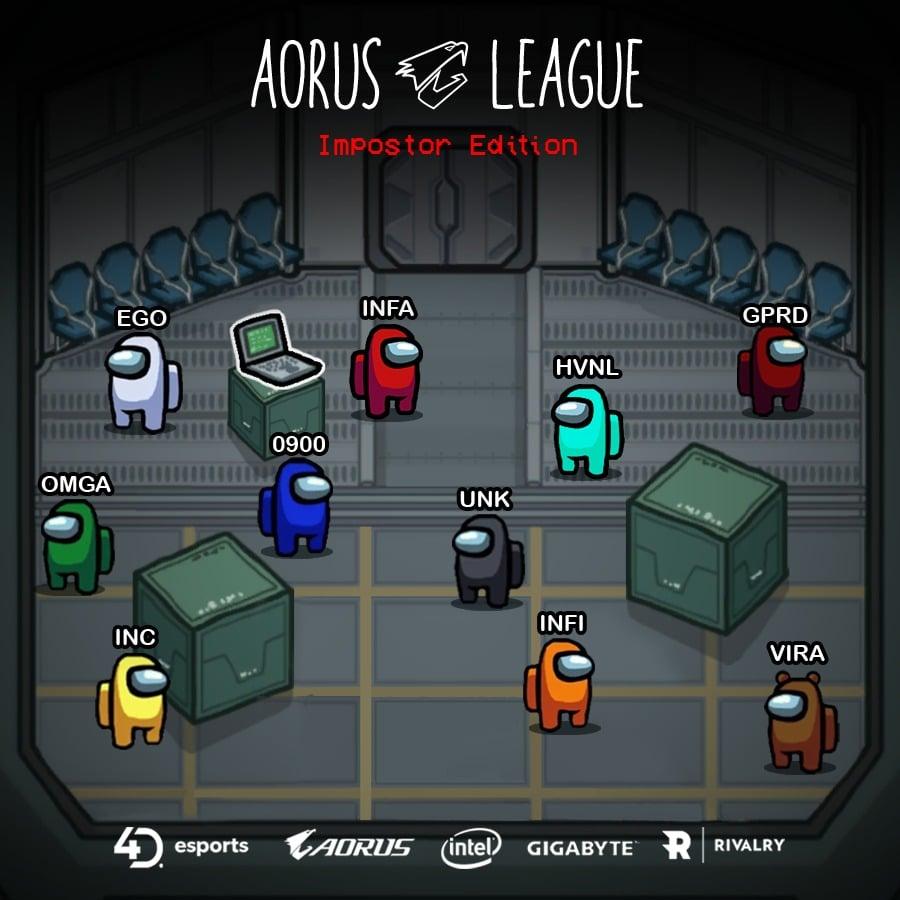 """Foto de 4D Esports presenta el torneo de Dota 2 """"Aorus League: Impostor Edition"""""""