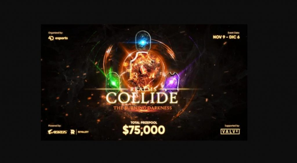 Foto de Realms Collide: The Burning Darkness torneo de 4D Esports apoyado por Valve