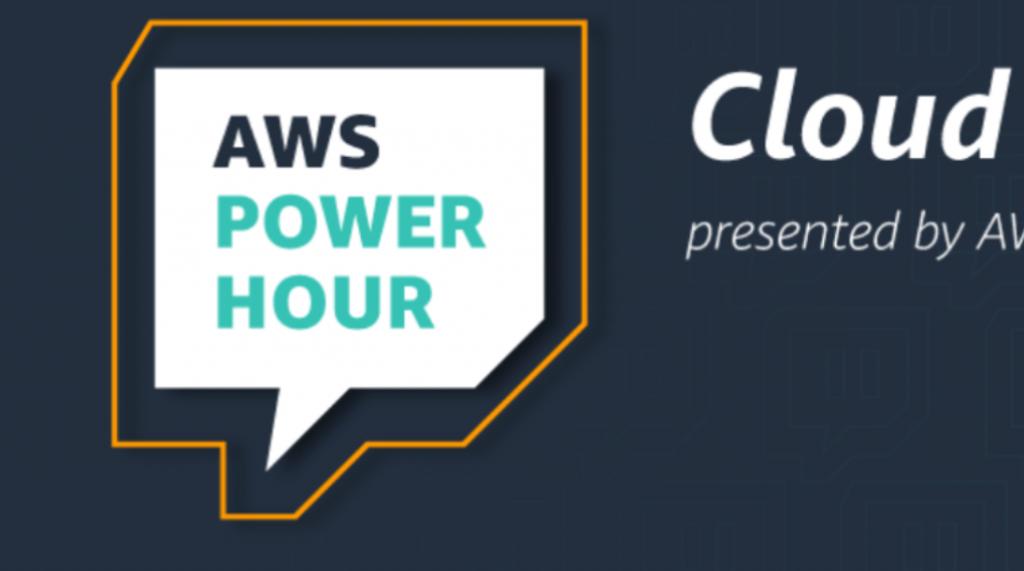 Foto de AWS Power Hour: Cloud Practitioner, serie en Twitch para aprender de Amazon Web Services