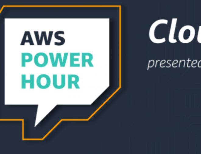 Fotos de AWS Power Hour: Cloud Practitioner, serie en Twitch para aprender de Amazon Web Services