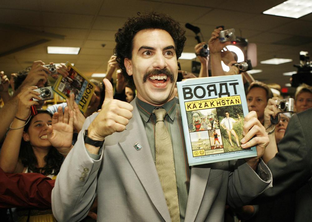 Foto de Estupendo y divertido Tráiler de Borat Subsequent Moviefilm, con Sacha Baron Cohen