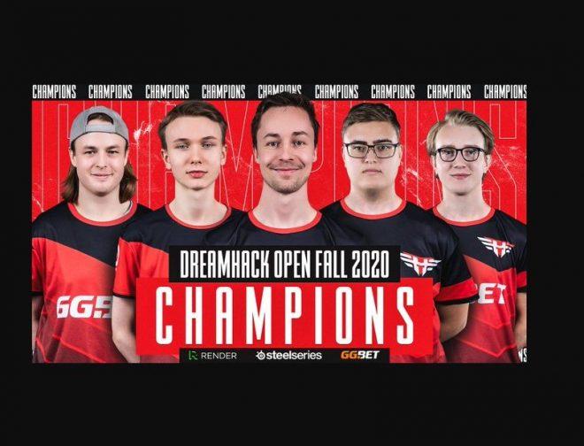 Fotos de Heroic vence a Team Vitality para ganar la DreamHack Open Fall 2020 de CS:GO