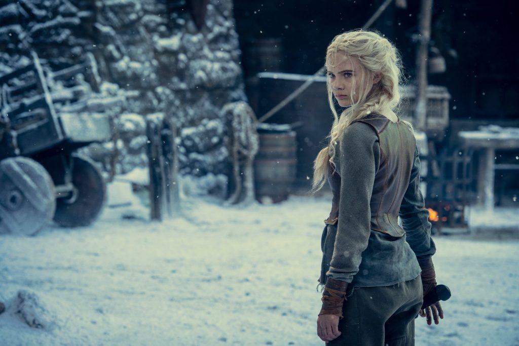 Foto de Netflix da el primer vistazo a Ciri en la segunda temporada de The Witcher