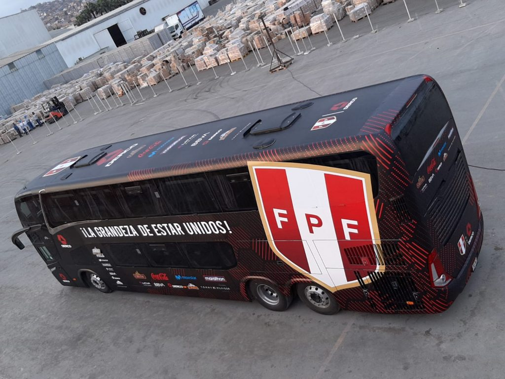 Foto de Nuevo bus de la selección se encargará de transportar al equipo de todos