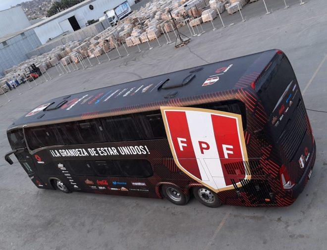 Fotos de Nuevo bus de la selección se encargará de transportar al equipo de todos