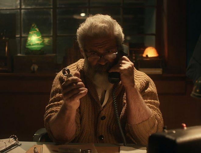 Fotos de Tráiler de 'Fatman': Donde Mel Gibson es nada menos que Santa Claus