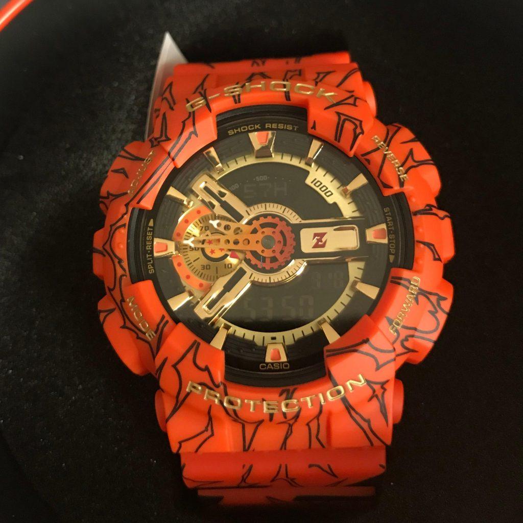 Foto de La edición del reloj G-Shock de Dragon Ball Z ya se vende en Perú