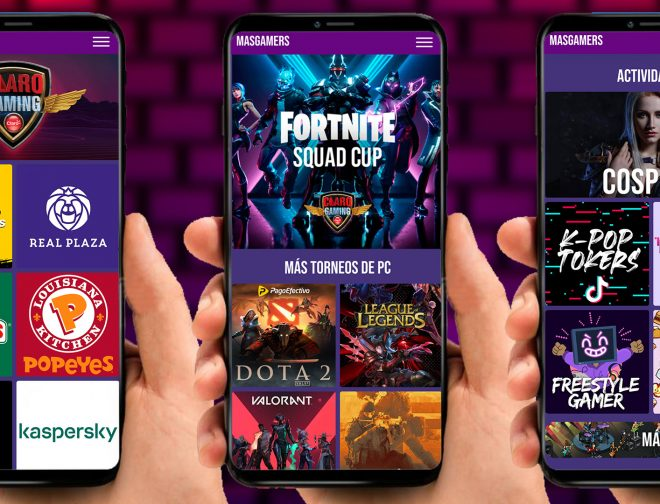 Fotos de Conoce la App, para seguir de cerca el Claro Gaming MasGamers Festival 2020