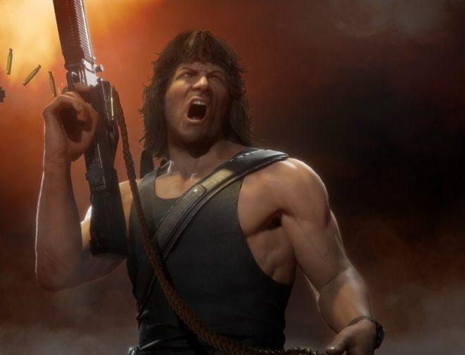 Fotos de Tráiler: Rambo llega con un brutal gameplay a Mortal Kombat 11 Ultimate