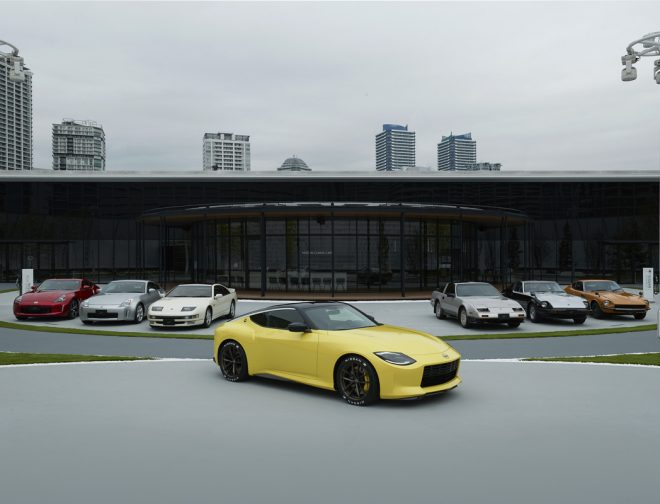 Fotos de Nissan Z Proto mira hacia el futuro, inspirado por su pasado