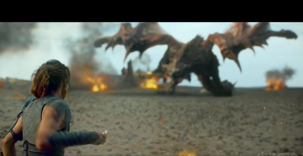"""Foto de Primer vistazo al monstruo """"Rathalos"""" en la película live action de Monster Hunter"""