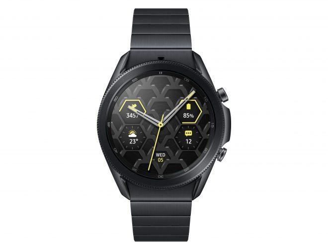 Fotos de Samsung lanza Galaxy Watch3 Titanium fusionando lujo con durabilidad