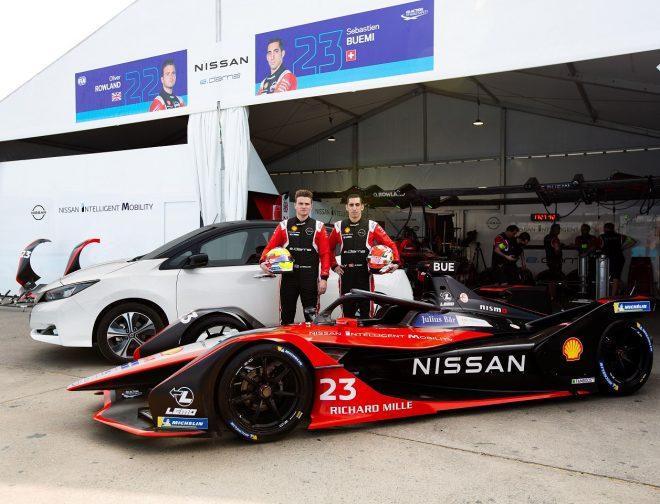 Fotos de Los pilotos Sebastien Buemi y Oliver Rowland, vuelven a la Fórmula E para el equipo Nissan e.dams