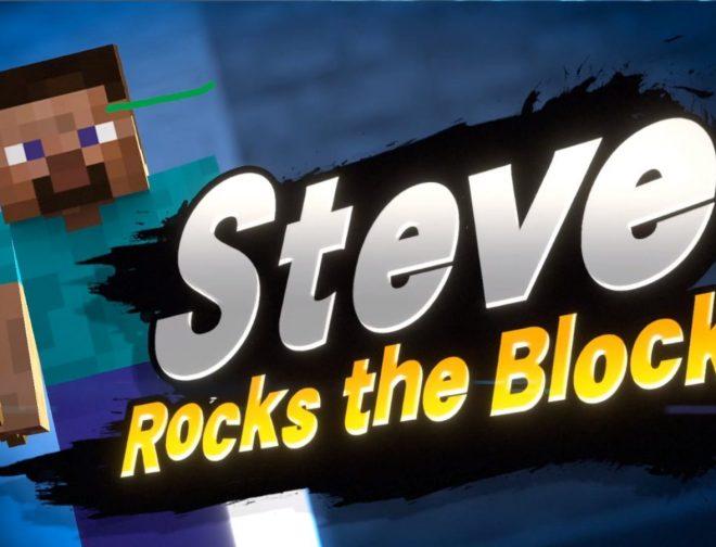 Fotos de Steve y Alex de Minecraft llegan a Super Smash Bros Ultimate