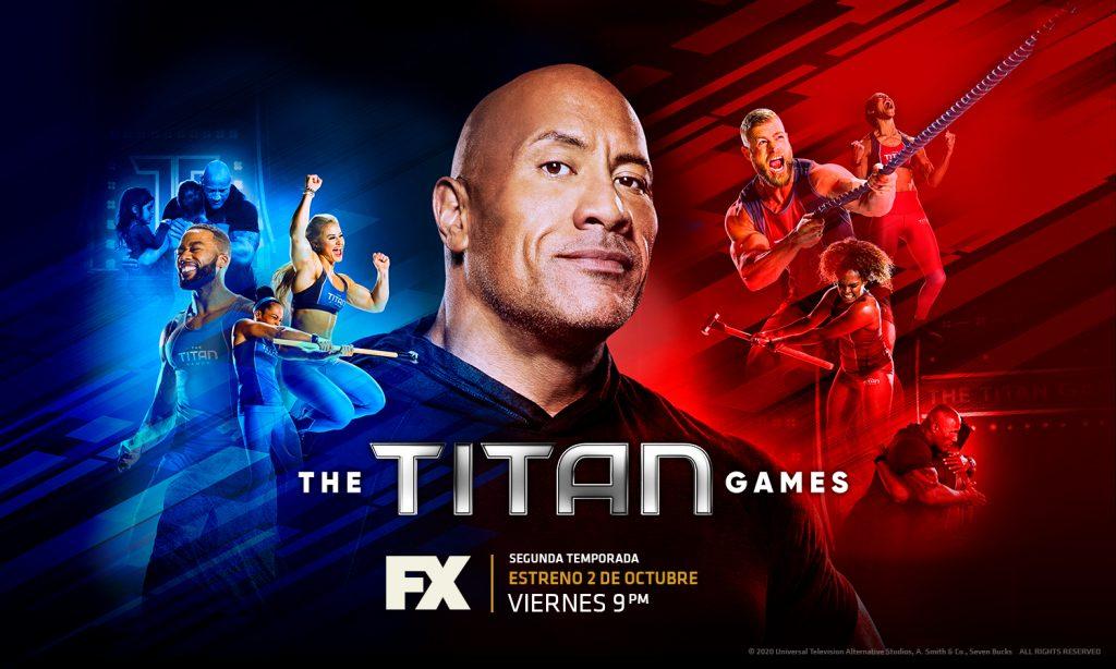 "Foto de Llega a FX la segunda temporada de la competición física a gran escala: ""The Titan Games"""