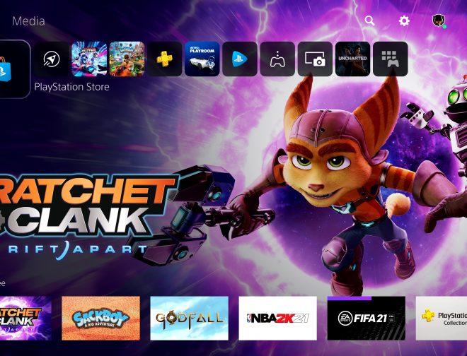 Fotos de Primer vistazo a la interfaz de usuario de la PlayStation 5