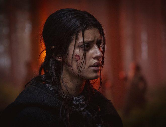 Fotos de Imágenes de Anya Chalotra, como Yennefer en la segunda temporada de The Witcher