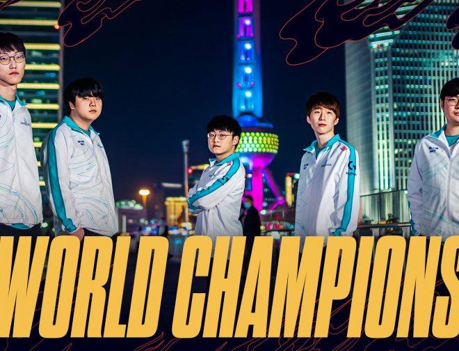 Fotos de DAMWON Gaming se corona campeón de Worlds 2020