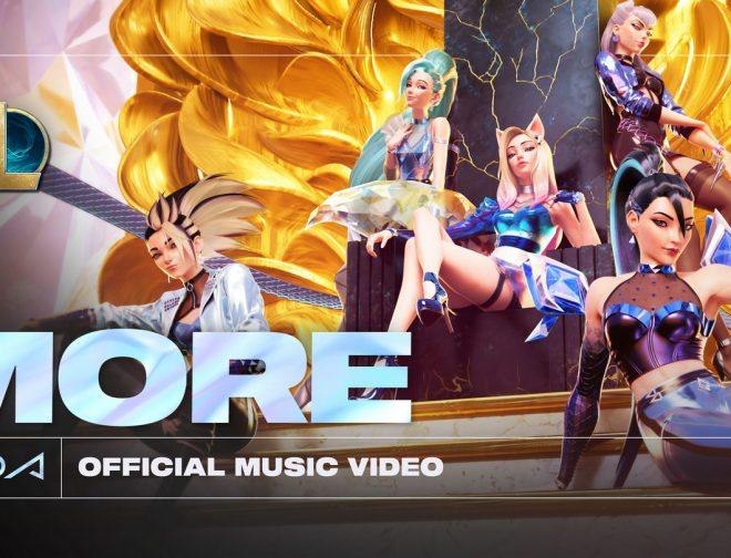 Fotos de K/DA presenta el video oficial de More con Madison Beer, (G)I-DLE, Lexie Liu, Jaira Burns y Seraphine