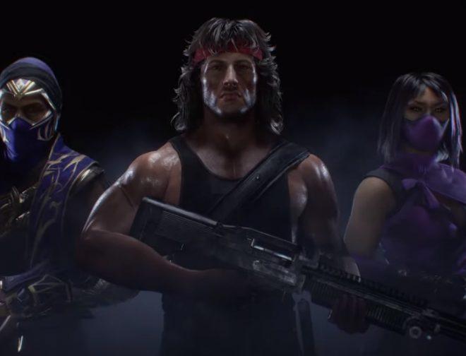 Fotos de Rambo, Mileena y Rain llegan a Mortal Kombat 11