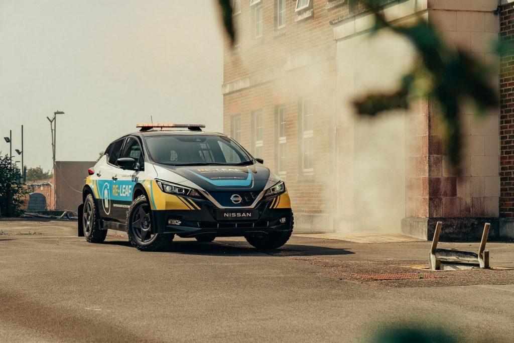 Foto de Nissan presenta el vehículo 100% eléctrico de emergencias, RE-LEAF