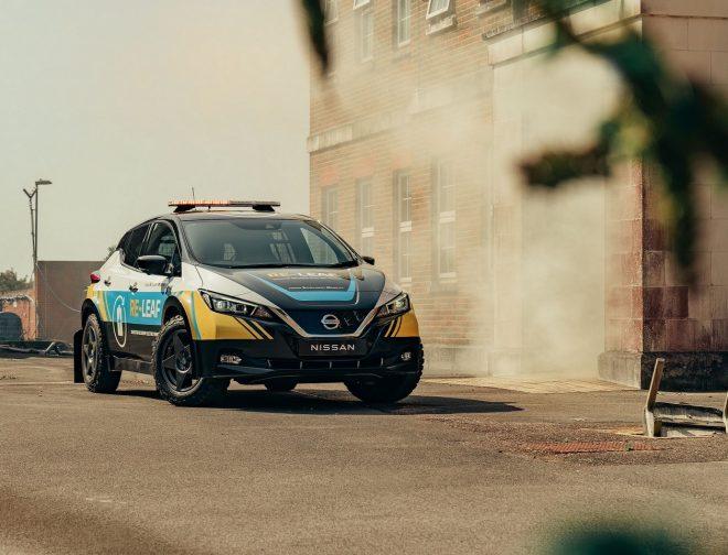 Fotos de Nissan presenta el vehículo 100% eléctrico de emergencias, RE-LEAF