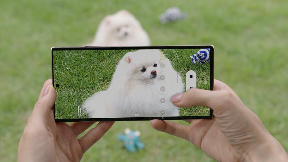 Foto de Galaxy Note20 Ultra 5G recibe la puntuación más alta en el Foro VcX