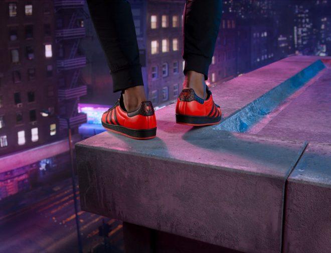 Fotos de Adidas lanza las zapatillas Superstar inspiradas en el juego Marvel's Spider-Man: Miles Morales