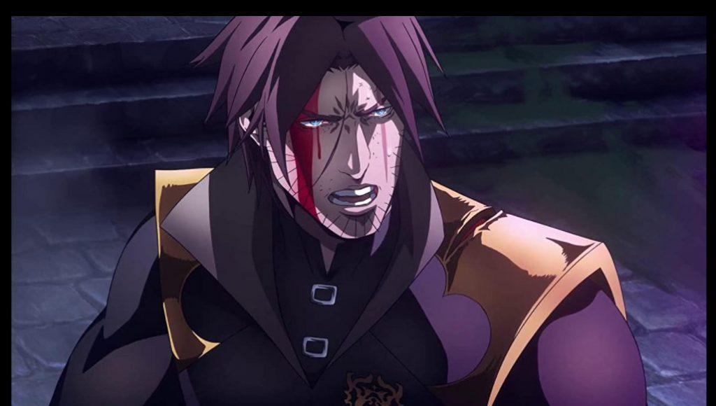 Foto de Netflix revela el póster de la cuarta temporada del anime de Castlevania