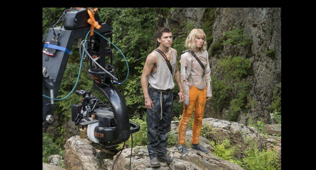 """Foto de Primer tráiler y afiche de la película, """"Caos: El inicio"""" con Tom Holland y Daisy Ridley"""
