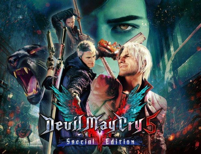Fotos de Estupendo tráiler de lanzamiento de Devil May Cry 5 Special Edition