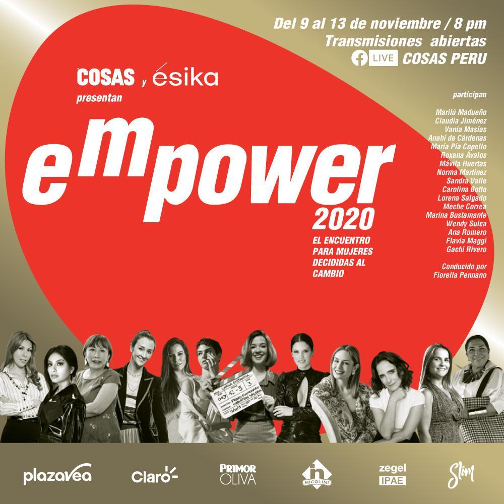 """Foto de Conoce más sobre el primer evento digital peruano """"Mujeres EMPOWER 2020"""""""