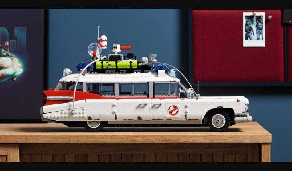 Foto de LEGO: Tendremos el ECTO-1, de la película Ghostbusters: Afterlife
