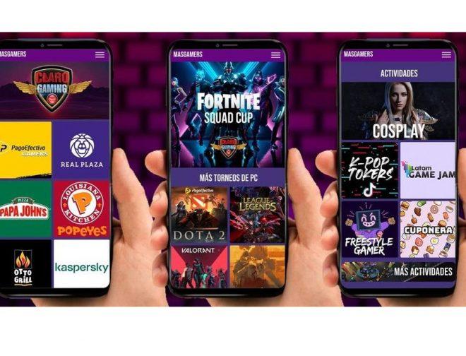 Fotos de MasGamers APP, la aplicación exclusiva del Claro Gaming MasGamers Festival 2020