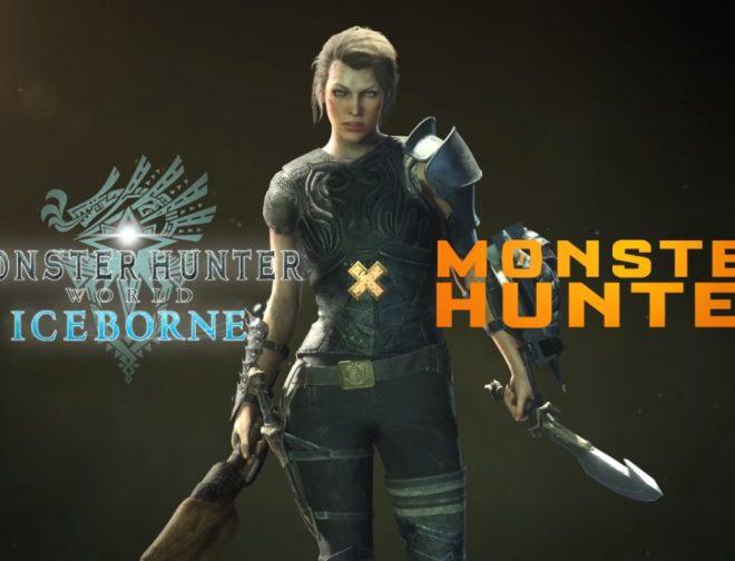 """Fotos de Artemis personaje interpretado por Milla Jovovich llega al videojuego """"Monster Hunter World: Iceborne"""""""