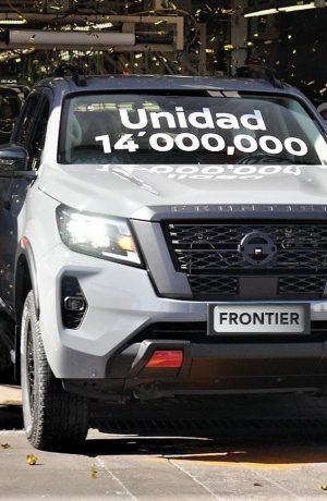 Foto de La unidad 14 millones de la Nissan Frontier será para Perú