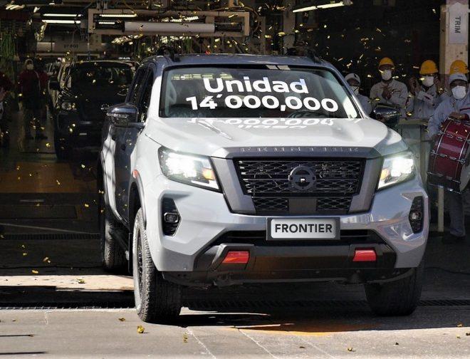 Fotos de La unidad 14 millones de la Nissan Frontier será para Perú