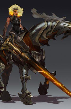 Foto de RELL, la Doncella de Hierro es la nueva campeona de League of Legends